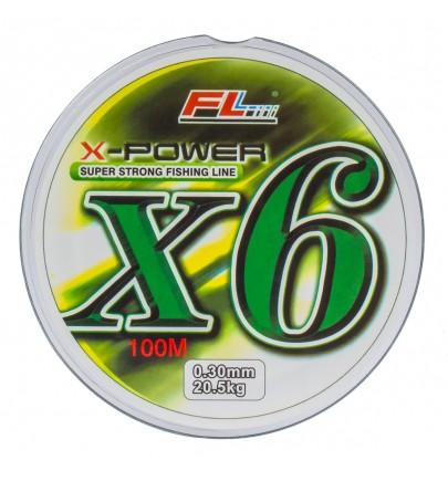 FIR TEXTIL POWER X6 100m