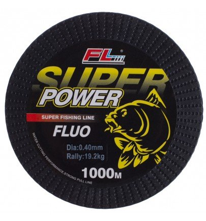 MONOFILAMENT GALBEN FLUO SUPER POWER FL 1000m