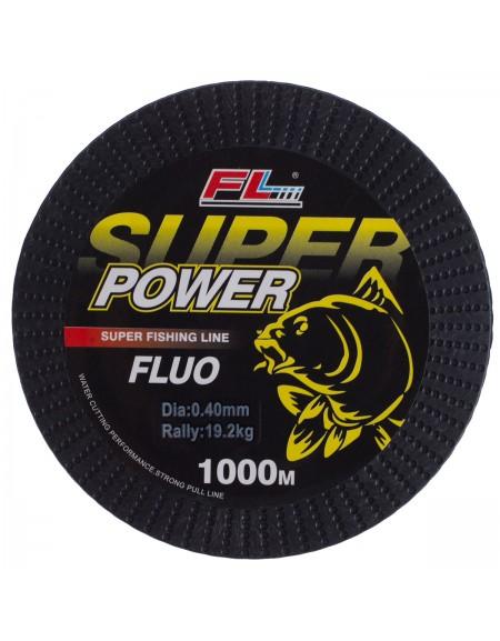 MONOFILAMENT GALBEN FLUO SUPER POWER FL 1000m