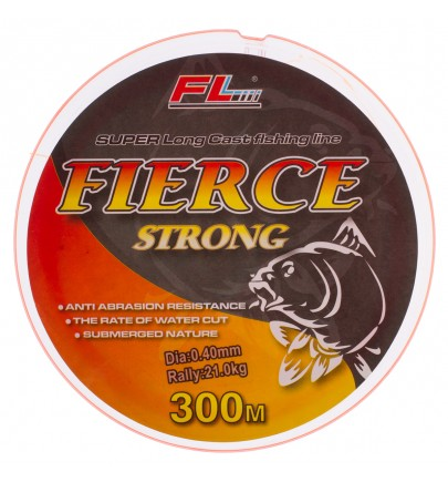 MONOFILAMENT ROSU FLUO FIERCE STRONG FL 300m