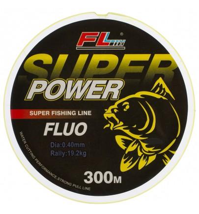 MONOFILAMENT GALBEN FLUO SUPER POWER FL 300m