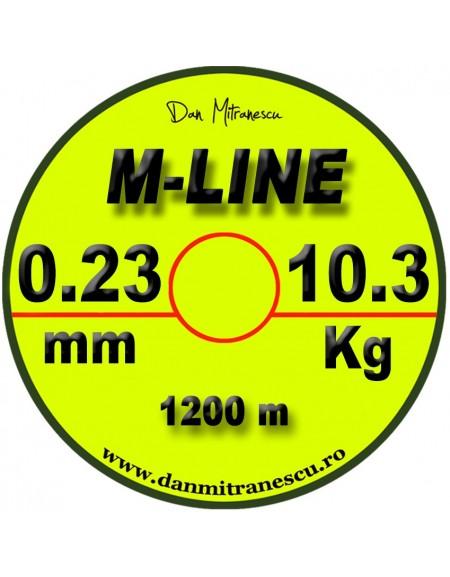 MONOFILAMENT M-LINE GALBEN FLUO