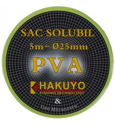 SAC SOLUBIL PVA HAKUYO - Ø25MM-5m