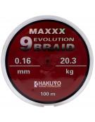 FIR TEXTIL HAKUYO MAXXX EVOLUTION 9 BRAID 100m