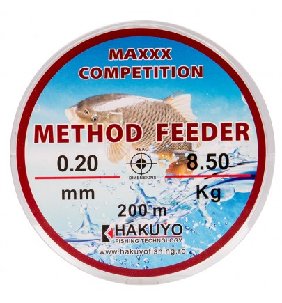 MONOFILAMENT METHOD FEEDER MAXX COMPETITION 200M